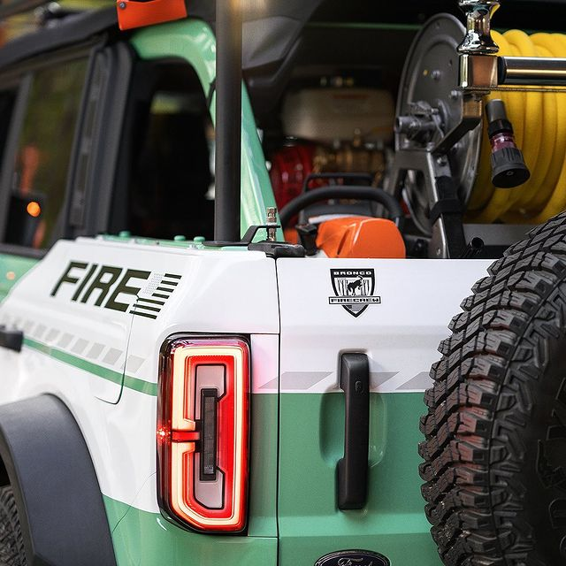 Filson Ford Bronco Trail Fire Rig