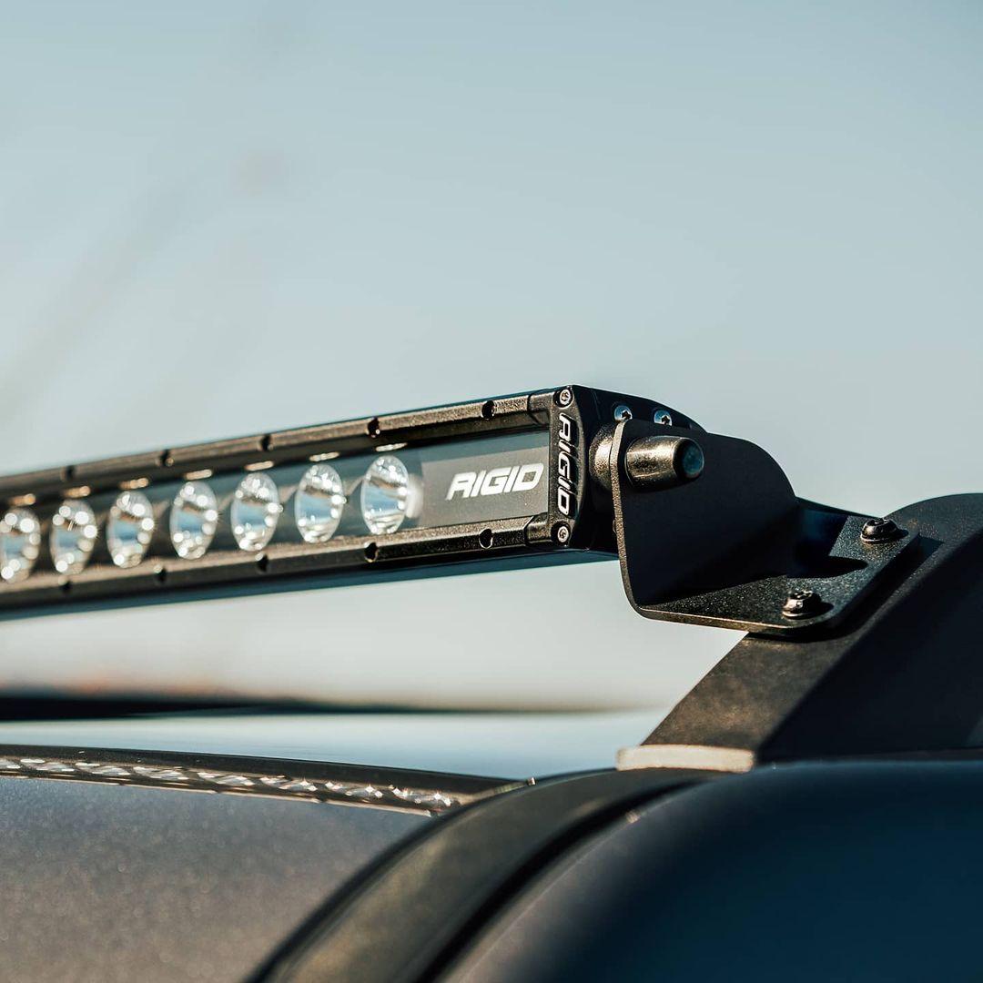 Rigid Industries Radiance Plus SR-Series LED on Bronco