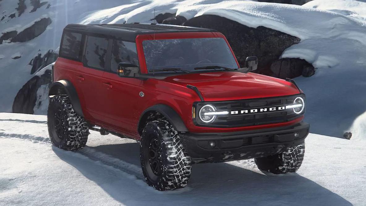 Rapid Red Bronco 6th Gen